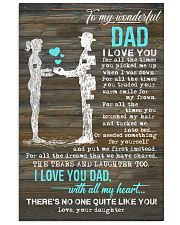 POSTER - TO MY DAD - I LOVE YOU 16x24 Poster front