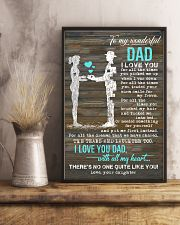 POSTER - TO MY DAD - I LOVE YOU 16x24 Poster lifestyle-poster-3