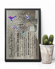 To My Daughter-in-law - Hummingbird - You Are  16x24 Poster lifestyle-poster-8
