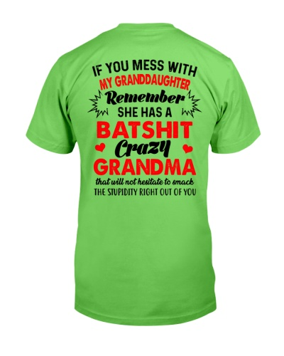 If you mess with my granddaughter