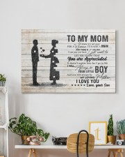 To My Mom - I Love You 30x20 Gallery Wrapped Canvas Prints aos-canvas-pgw-30x20-lifestyle-front-03