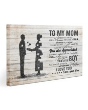 To My Mom - I Love You 30x20 Gallery Wrapped Canvas Prints front