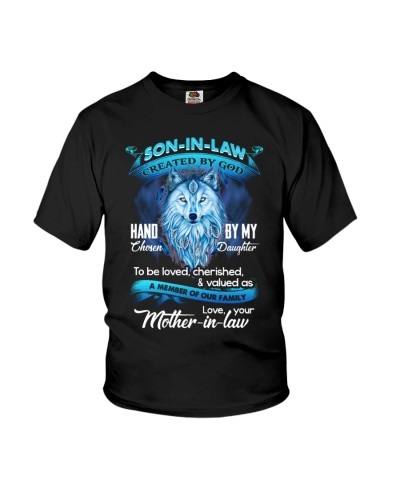 SON-IN-LAW - WOLF - HAND CHOSEN BY MY DAUGHTER