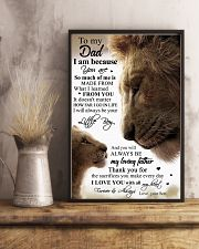 SON TO DAD 16x24 Poster lifestyle-poster-3