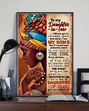 TO MY DAUGHTER-IN-LAW - AFRICAN WOMAN - THE ONE 16x24 Poster lifestyle-poster-2