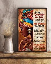 TO MY DAUGHTER-IN-LAW - AFRICAN WOMAN - THE ONE 16x24 Poster lifestyle-poster-3
