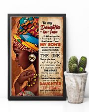 TO MY DAUGHTER-IN-LAW - AFRICAN WOMAN - THE ONE 16x24 Poster lifestyle-poster-8