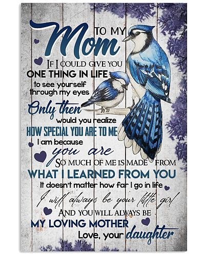 TO MY MOM - BLUE JAY BIRD