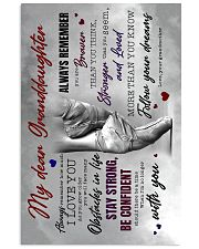 Grandma to Granddaughter - Fllow Your Dream 16x24 Poster front
