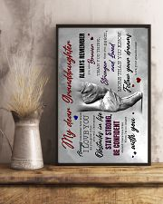 Grandma to Granddaughter - Fllow Your Dream 16x24 Poster lifestyle-poster-3