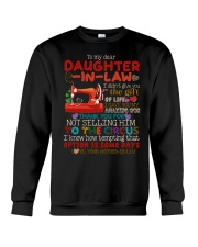 TO MY DAUGHTER-IN-LAW - QUILTING - CIRCUS Crewneck Sweatshirt thumbnail