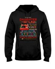 TO MY DAUGHTER-IN-LAW - QUILTING - CIRCUS Hooded Sweatshirt thumbnail
