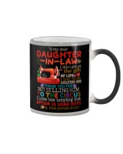 TO MY DAUGHTER-IN-LAW - QUILTING - CIRCUS Color Changing Mug thumbnail