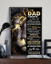 POSTER - TO MY DAD - THANK YOU 16x24 Poster lifestyle-poster-2