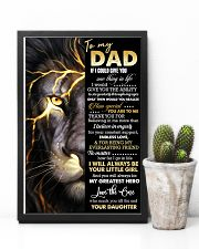 POSTER - TO MY DAD - THANK YOU 16x24 Poster lifestyle-poster-8