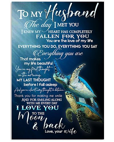 TO MY HUSBAND - TURTLE - I LOVE YOU