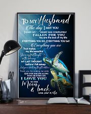 TO MY HUSBAND - TURTLE - I LOVE YOU 16x24 Poster lifestyle-poster-2