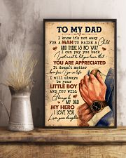 To My Dad - Vintage - Poster 16x24 Poster lifestyle-poster-3