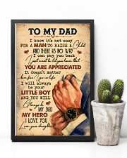To My Dad - Vintage - Poster 16x24 Poster lifestyle-poster-8