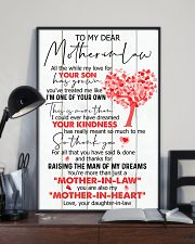 TO MY MOTHER-IN-LAW - TREE 16x24 Poster lifestyle-poster-2