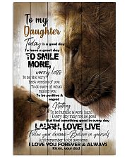 To My Daughter - Lions - Today Is A Good Day Vertical Poster tile