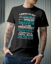Thinking I'm just a spoiled child was Classic T-Shirt lifestyle-mens-crewneck-front-6