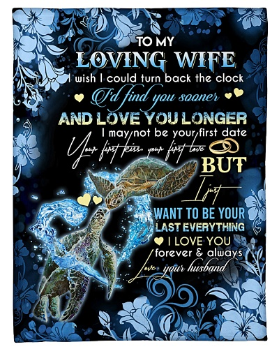 TO MY WIFE - TURTLE - I LOVE YOU