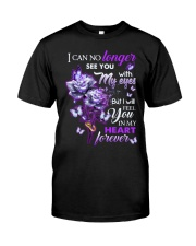 ANGEL IN HEAVEN - ROSES - IN MY HEART FOREVER Classic T-Shirt front