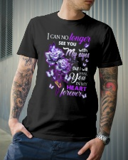 ANGEL IN HEAVEN - ROSES - IN MY HEART FOREVER Classic T-Shirt lifestyle-mens-crewneck-front-6