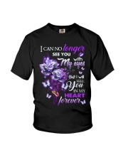 ANGEL IN HEAVEN - ROSES - IN MY HEART FOREVER Youth T-Shirt thumbnail