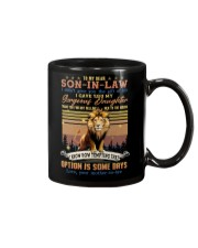 To My Son-in-law - Lion - Circus - Mug Mug front