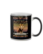 To My Son-in-law - Lion - Circus - Mug Color Changing Mug tile
