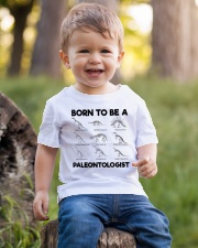 Born to be a Paleontologist Forced to go to school Youth T-Shirt lifestyle-youth-tshirt-front-4
