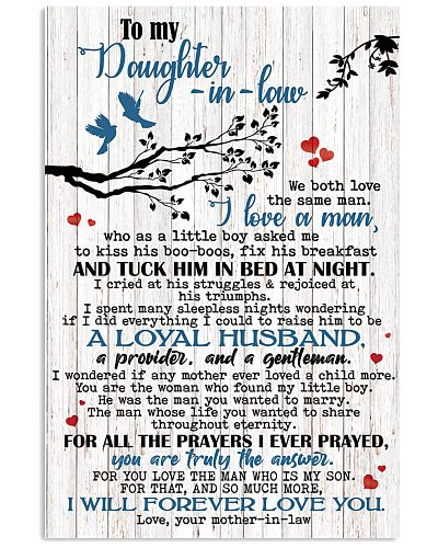 TO MY DAUGHTER-IN-LAW - FAMILY TREE - I LOVE YOU