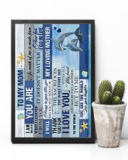 To My Mom - Dolphin - Poster 16x24 Poster lifestyle-poster-8