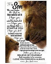 POSTER - TO MY SON - LION - WE CAN 16x24 Poster front