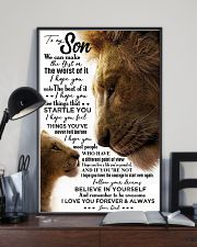 POSTER - TO MY SON - LION - WE CAN 16x24 Poster lifestyle-poster-2