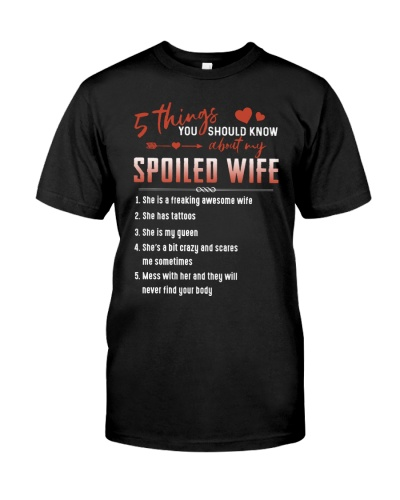5 THINGS ABOUT MY SPOILED WIFE - VINTAGE