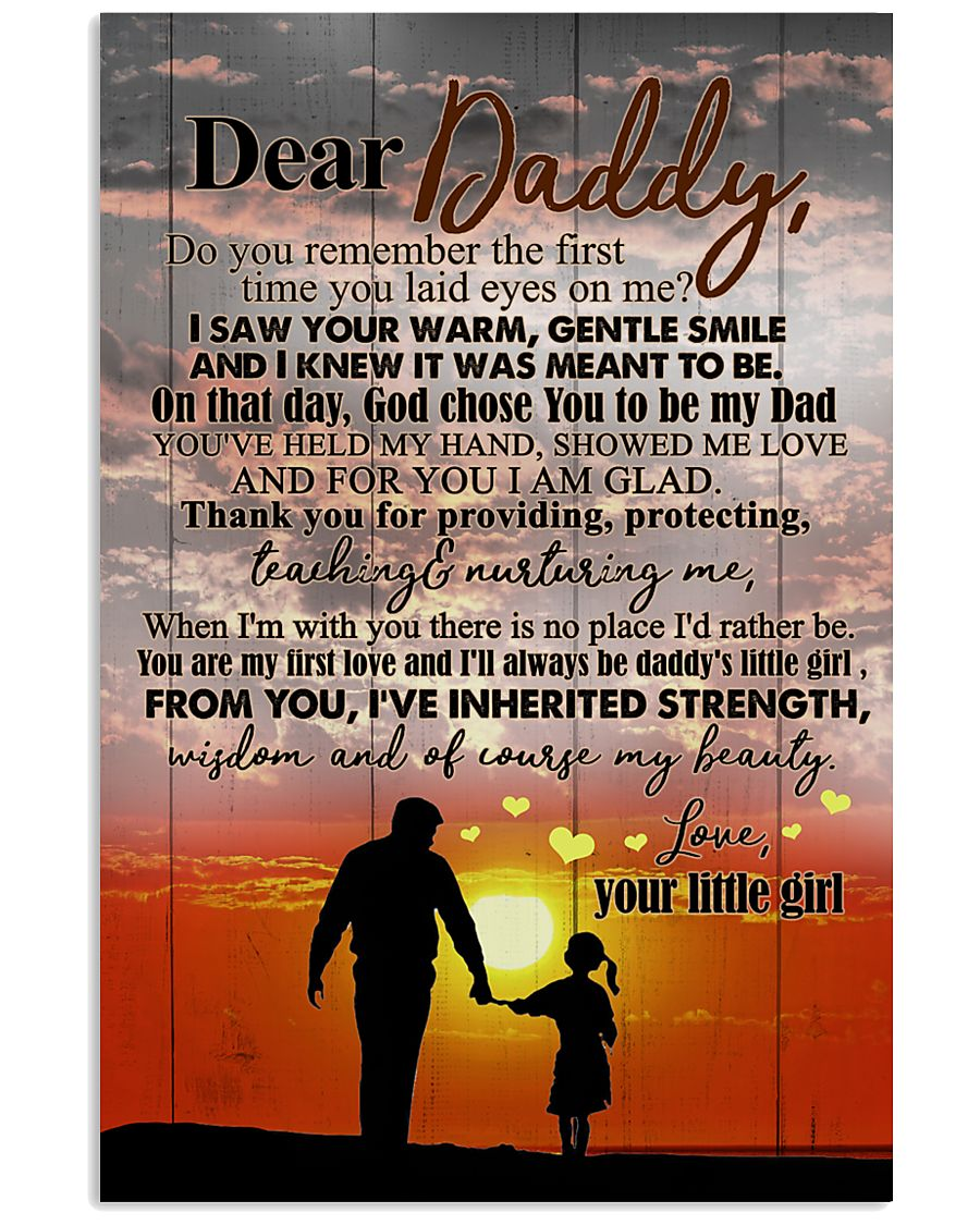 POSTER - TO MY DAD- SUNSET - DO YOU REMEMBER 16x24 Poster