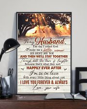 TO MY HUSBAND - CARDINAL - I LOVE YOU 16x24 Poster lifestyle-poster-2