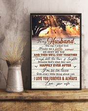 TO MY HUSBAND - CARDINAL - I LOVE YOU 16x24 Poster lifestyle-poster-3