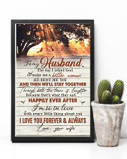 TO MY HUSBAND - CARDINAL - I LOVE YOU 16x24 Poster lifestyle-poster-8