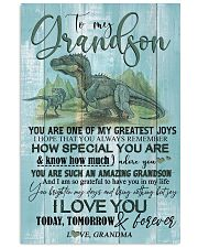 GRANDMA TO GRANDSON - T REX - FOREVER 16x24 Poster front