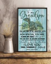 GRANDMA TO GRANDSON - T REX - FOREVER 16x24 Poster lifestyle-poster-3