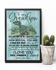 GRANDMA TO GRANDSON - T REX - FOREVER 16x24 Poster lifestyle-poster-8