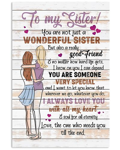 TO MY SISTER - I LOVE YOU