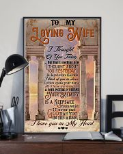 Angel Wife - Heaven's Gate - I Have You In My 16x24 Poster lifestyle-poster-2