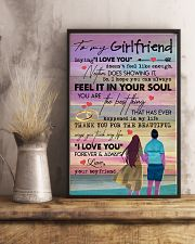TO MY GIRLFRIEND - COUPLE - I LOVE YOU 16x24 Poster lifestyle-poster-3