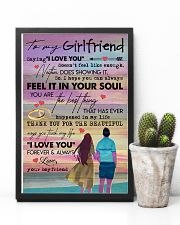 TO MY GIRLFRIEND - COUPLE - I LOVE YOU 16x24 Poster lifestyle-poster-8