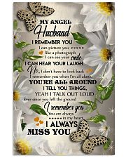 MY ANGEL HUSBAND - BUTTERFLY - I LOVE YOU 16x24 Poster front